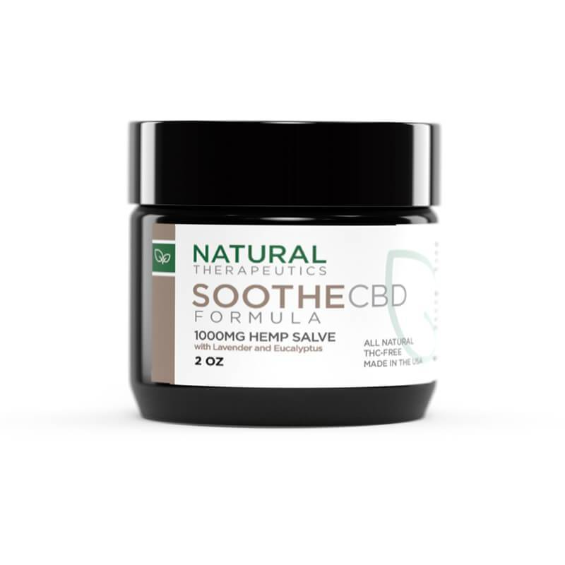 Natural Therapeutics - CBD Topical - Soothe Salve - 1000mg