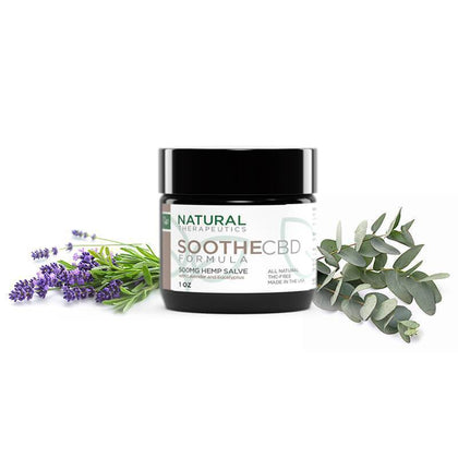 Natural Therapeutics - CBD Topical - Soothe Salve - 500mg-buy-CBD-online