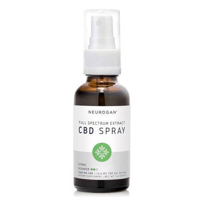 Neurogan, Inc. - CBD Oil Spray - Full Spectrum Citrus - 1000mg-3000mg-buy-CBD-online