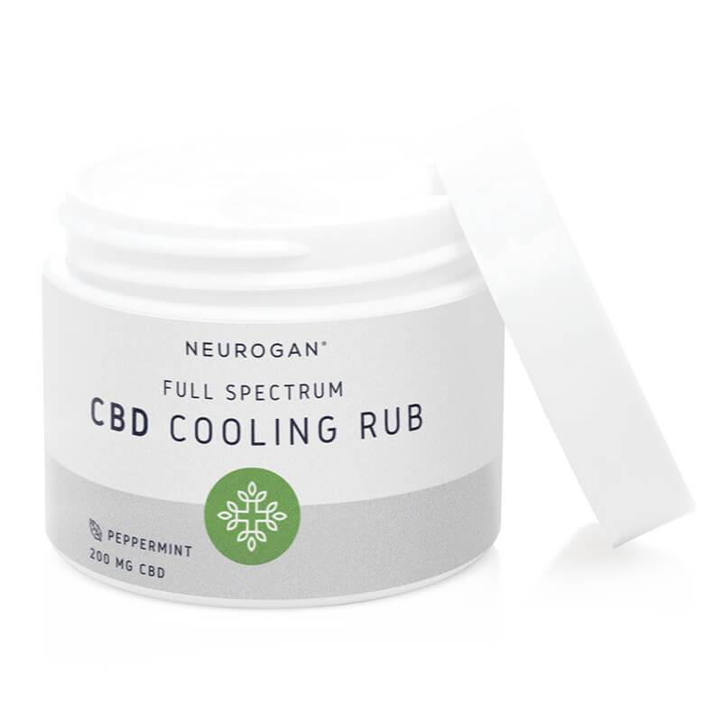 Neurogan, Inc. - CBD Topical - Full Spectrum Peppermint Cooling Rub - 200mg