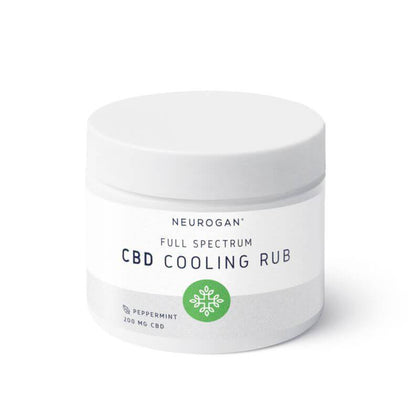 Neurogan, Inc. - CBD Topical - Full Spectrum Peppermint Cooling Rub - 200mg-buy-CBD-online