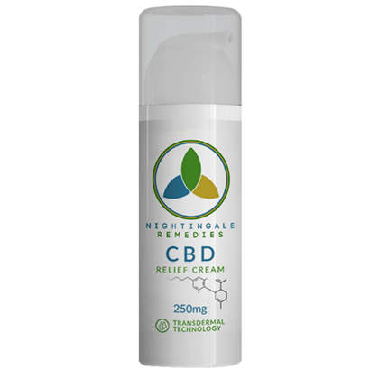 Nightingale Remedies - CBD Topical - Relief Cream - 250mg-buy-CBD-online