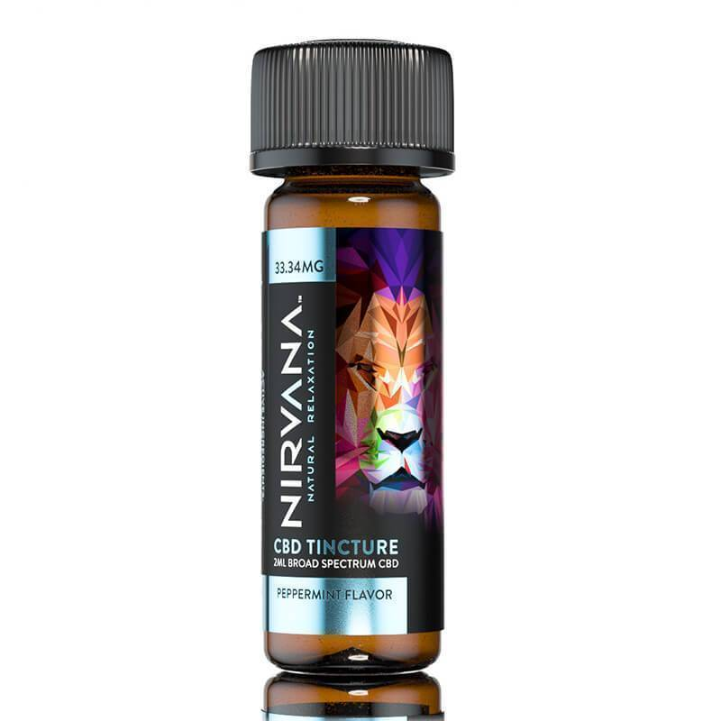 Nirvana - CBD Dram Tincture - Peppermint - 33mg