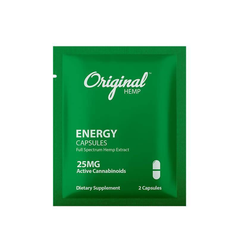 Original Hemp - CBD Capsule - Energy 2 Pack - 25mg