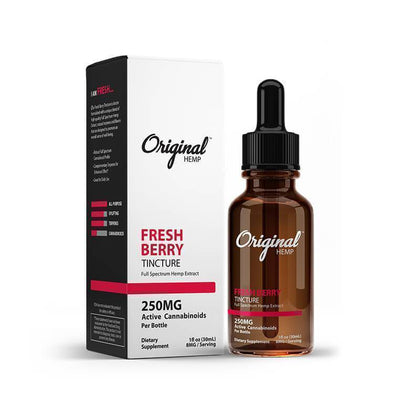 Original Hemp - CBD Tincture - Fresh Berry - 250mg-2000mg-buy-CBD-online