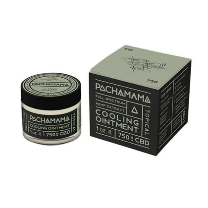 Pachamama - CBD Topical - Cooling Ointment - 750mg-buy-CBD-online