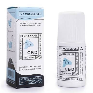 Pachamama - CBD Topical - Icy Muscle Gel - 500mg-buy-CBD-online