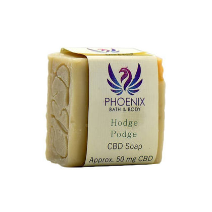 Phoenix Natural Wellness - CBD Bath - Hodge Podge Soap - 50mg-buy-CBD-online