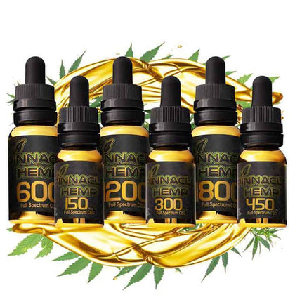 Pinnacle Hemp - CBD Tincture - Full Spectrum - 150mg-1800mg-buy-CBD-online