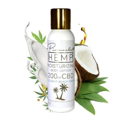 Pinnacle Hemp - CBD Topical - Coconut Beach Dream Body Lotion - 200mg-buy-CBD-online