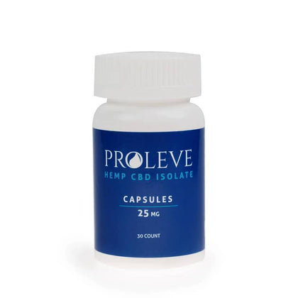 Proleve - CBD Concentrate - Isolate Capsule - 25mg-50mg-buy-CBD-online
