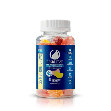 Proleve - CBD Edible - Gummy Slices PM - 25mg-50mg-buy-CBD-online