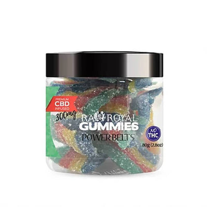 RA Royal CBD - CBD Edible - Power Belts Gummies - 300mg-1200mg-buy-CBD-online