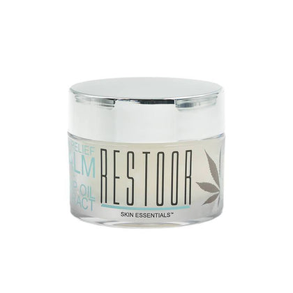 Restoor Skin Essentials - CBD Topical - Pain Relief Balm - 125mg-buy-CBD-online