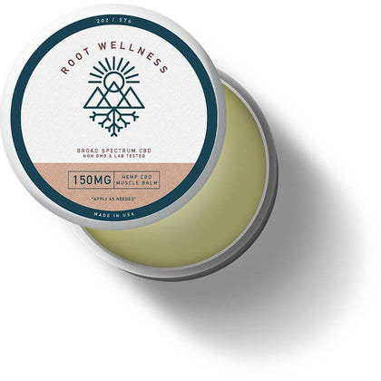 Root Wellness - CBD Topical - Methol Muscle Balm - 150mg-buy-CBD-online