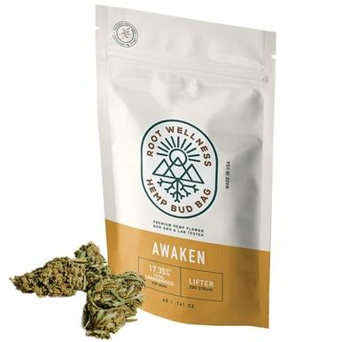Root Wellness - Hemp Flower - Awaken Bud Bag-buy-CBD-online