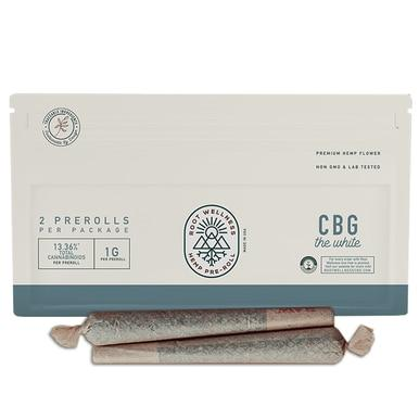 Root Wellness - Hemp Flower - CBG Pre-Roll 2-Pack
