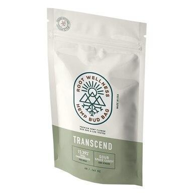 Root Wellness - Hemp Flower - Transcend Bud Bag