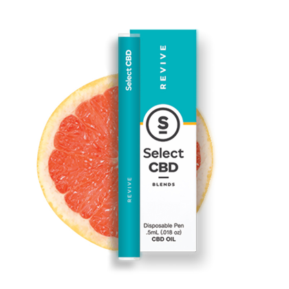 Select CBD - CBD Device - Revive Grapefruit Disposable Vape Pen - 250mg-buy-CBD-online