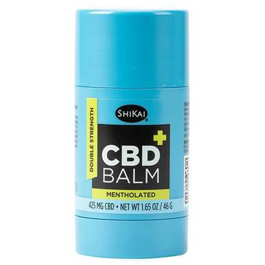 ShiKai - CBD Topical - Double Strength Balm Mentholated - 425mg-buy-CBD-online