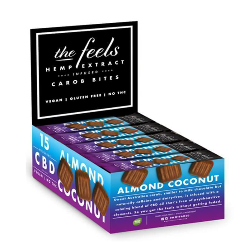 The Feels - CBD Edible - Almond Coconut Carob Truffley Treats - 15mg