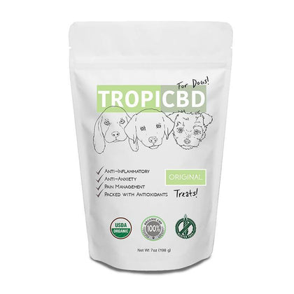 TropiCBD - CBD Pet Edible - Original Dog Treats - 4mg-buy-CBD-online