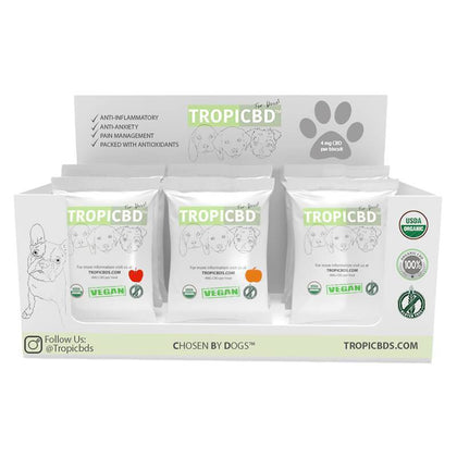 TropiCBD - CBD Pet Edible - Sample Box Dog Treats - CBD Pet Product - 4mg-buy-CBD-online