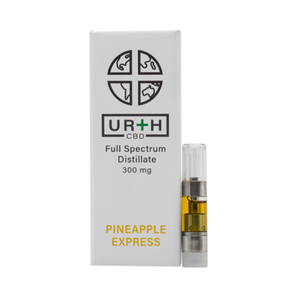 Urth CBD - CBD Cartridge - Pineapple Express Hungry - 300mg-buy-CBD-online