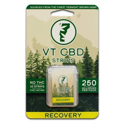 VT-CBD Goods - CBD Edible - Lemon Recovery Strips - 25mg-buy-CBD-online