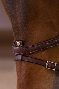 ORIGIN - Grain - Flash (Removable) Bridle w/Reins