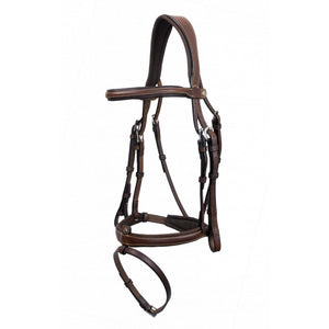 Grained Leather Flash Bridle by Antares