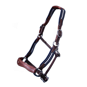 Leather & Elastic Stressless Halter