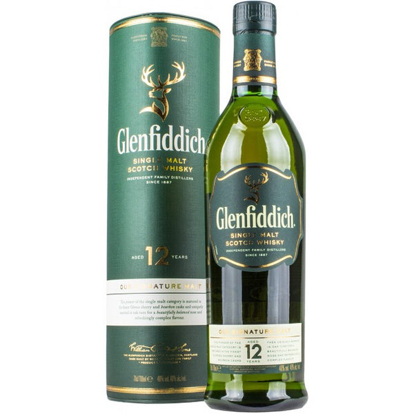 Glenfiddich 12 Years Single Malt - Ludv. Bjørns Vinhandel