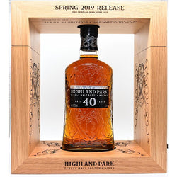 Highland Park, 40 Years, 43,2%, 70 Cl Spring 2019 Release
