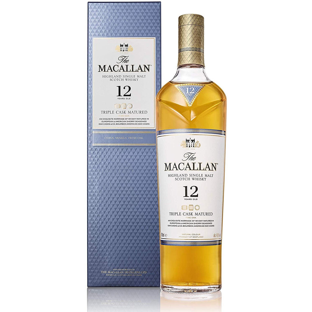 The Macallan 12 Years Old  Triple Cask - Ludv. Bjørns Vinhandel