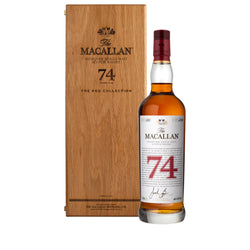 The Macallan Red Collection 74 Years Old