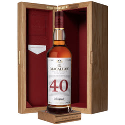 The Macallan Red Collection  40 Years Old