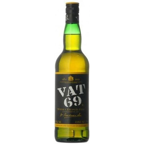 Vat 69 Scotch Blended   Whisky - Ludv. Bjørns Vinhandel