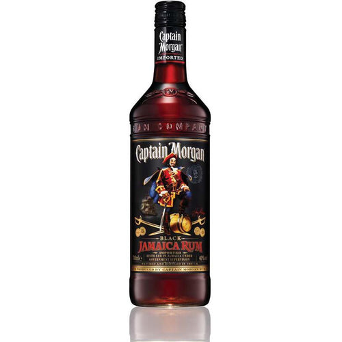Captain Morgan Black,40%,70 cl.