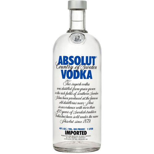 Absolut Vodka, 40%, 100 cl.