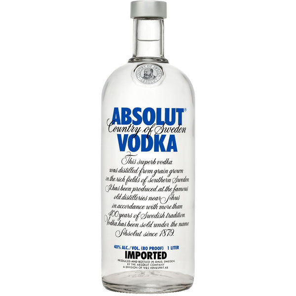 Absolut Vodka, 40%, 100 cl. - Ludv. Bjørns Vinhandel