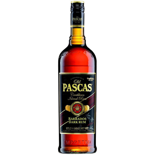 Old Pascas Dark Rum, 37,5%, 70 cl