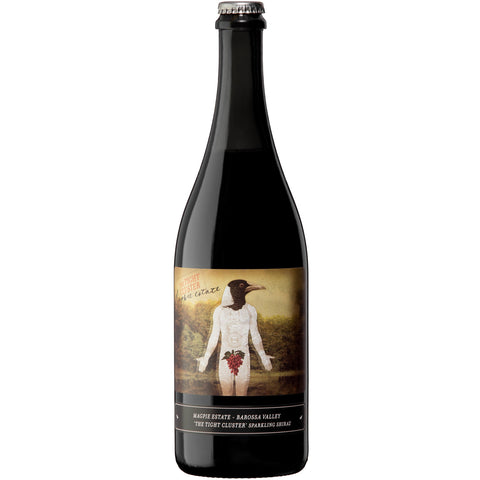 2012 Tight Cluster Sparkling Shiraz Magpie Estate - Ludv. Bjørns Vinhandel