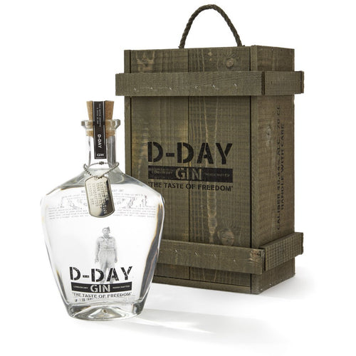 D-Day Gin,44%, 70 cl.