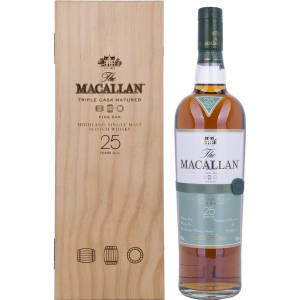 The Macallan 25 Year, Triple Cask, Fine Oak - Ludv. Bjørns Vinhandel
