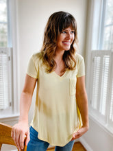 Load image into Gallery viewer, Clarissa Tee Shirt-Yellow