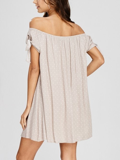 'Kelsey' Off the Shoulder Bathing Suit Cover-Up