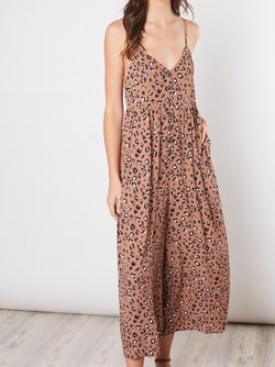 'Samantha' Animal Print Jumpsuit