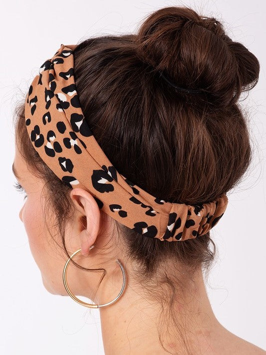 'Jax' Animal Print Headband