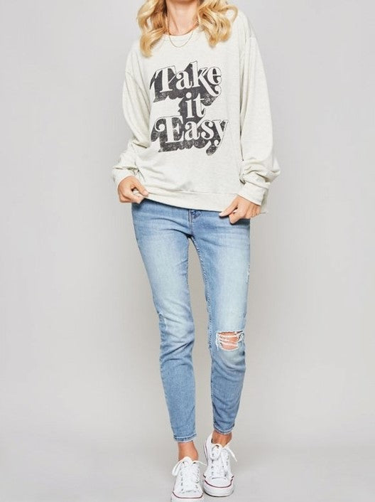 'Whitney' Graphic Sweatshirt